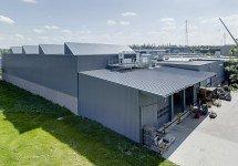 Errichtung einer klimatisierten Industriehalle für hochempfindliche Messinstrumente im Bereich der Präzisionsmechanik