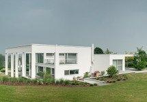 Neubau eines Wohnhauses mit Aussenschwimmbad