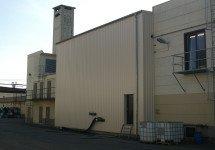 Neubau Halle für Tanklager
