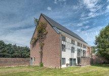 Umbau einer Scheune in 4 Sozialwohnungen