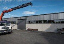 Neubau Lagerhalle inkl. Aussenlagerflächen