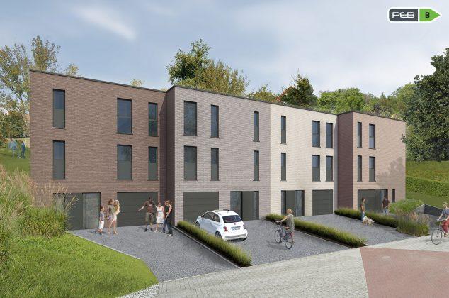 Grandes maisons individuelles à Eupen, à proximité de la forêt et de la ville
