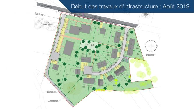 Völkerich – Gemmenich: Aménagement d'un nouveau quartier